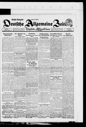 Deutsche allgemeine Zeitung vom 09.02.1923
