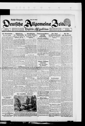 Deutsche allgemeine Zeitung vom 13.02.1923