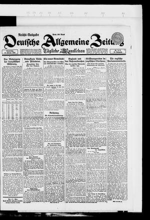 Deutsche allgemeine Zeitung vom 15.02.1923