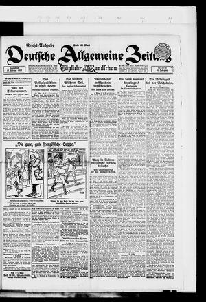 Deutsche allgemeine Zeitung vom 17.02.1923