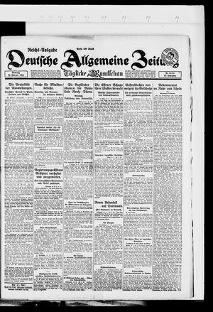 Deutsche allgemeine Zeitung vom 20.02.1923