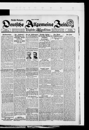 Deutsche allgemeine Zeitung vom 23.02.1923