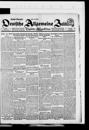 Deutsche allgemeine Zeitung on Feb 27, 1923