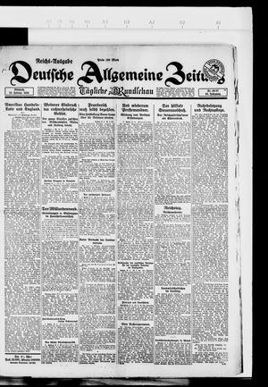 Deutsche allgemeine Zeitung vom 28.02.1923