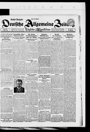 Deutsche allgemeine Zeitung on Mar 3, 1923