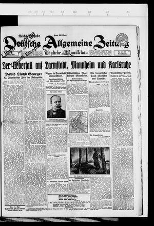 Deutsche allgemeine Zeitung vom 04.03.1923