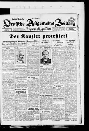 Deutsche allgemeine Zeitung vom 07.03.1923