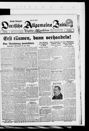 Deutsche allgemeine Zeitung on Mar 8, 1923