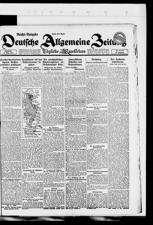 Deutsche allgemeine Zeitung vom 10.03.1923