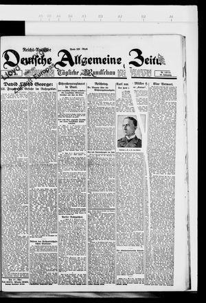 Deutsche allgemeine Zeitung vom 13.03.1923