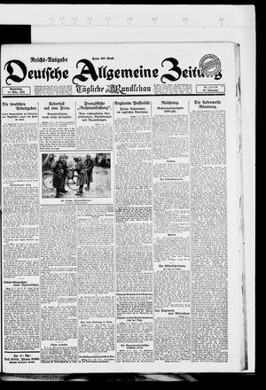 Deutsche allgemeine Zeitung vom 15.03.1923
