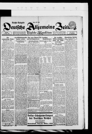 Deutsche allgemeine Zeitung vom 18.03.1923
