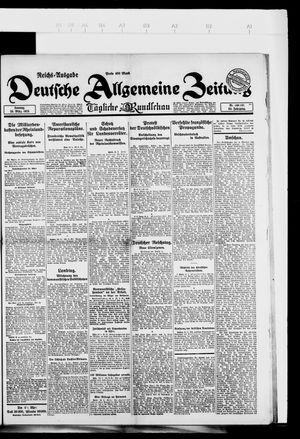 Deutsche allgemeine Zeitung vom 25.03.1923