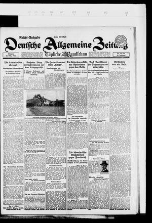 Deutsche allgemeine Zeitung vom 28.03.1923