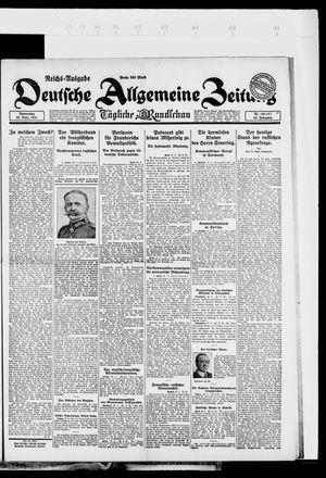 Deutsche allgemeine Zeitung vom 29.03.1923