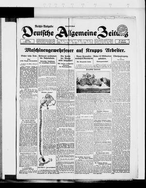Deutsche allgemeine Zeitung vom 01.04.1923