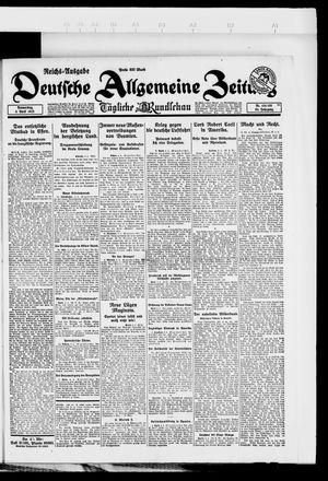 Deutsche allgemeine Zeitung on Apr 5, 1923