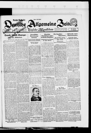 Deutsche allgemeine Zeitung vom 10.04.1923