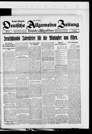 Deutsche allgemeine Zeitung vom 11.04.1923