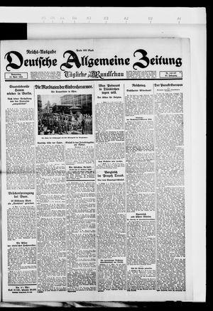Deutsche allgemeine Zeitung vom 12.04.1923