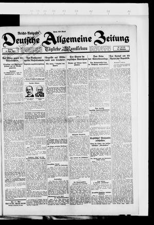 Deutsche allgemeine Zeitung vom 13.04.1923