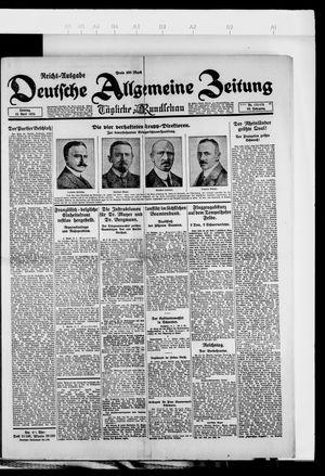 Deutsche allgemeine Zeitung on Apr 15, 1923