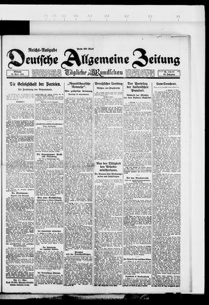 Deutsche allgemeine Zeitung vom 18.04.1923