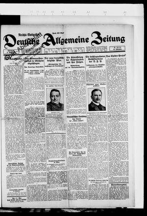 Deutsche allgemeine Zeitung vom 21.04.1923
