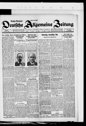 Deutsche allgemeine Zeitung vom 22.04.1923
