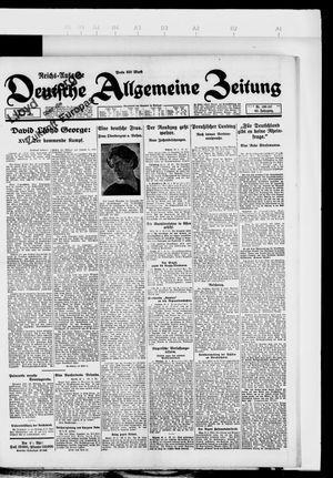 Deutsche allgemeine Zeitung vom 24.04.1923