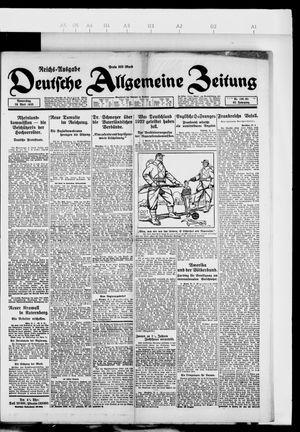 Deutsche allgemeine Zeitung vom 26.04.1923
