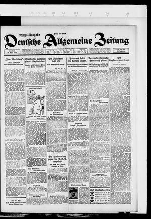 Deutsche allgemeine Zeitung vom 28.04.1923