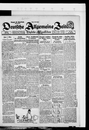 Deutsche allgemeine Zeitung vom 30.04.1923