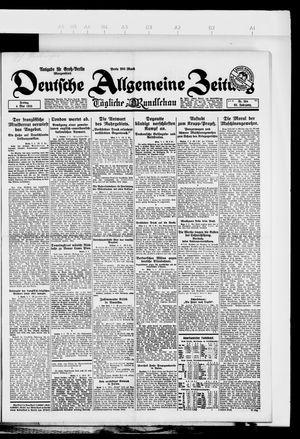 Deutsche allgemeine Zeitung vom 04.05.1923