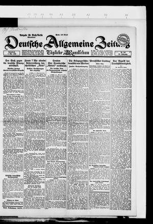 Deutsche allgemeine Zeitung vom 05.05.1923