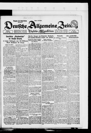 Deutsche allgemeine Zeitung vom 08.05.1923
