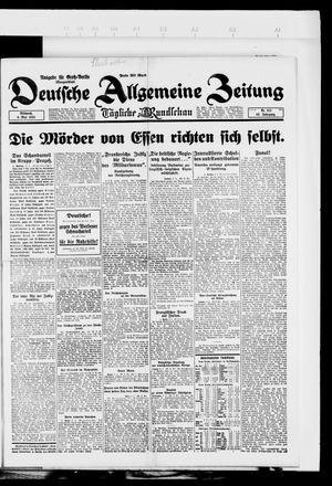 Deutsche allgemeine Zeitung vom 09.05.1923