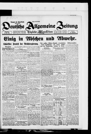 Deutsche allgemeine Zeitung vom 10.05.1923