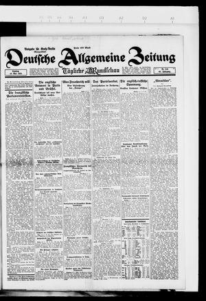 Deutsche allgemeine Zeitung vom 13.05.1923