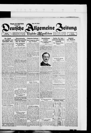 Deutsche allgemeine Zeitung vom 15.05.1923
