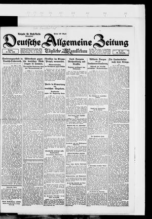 Deutsche allgemeine Zeitung vom 18.05.1923