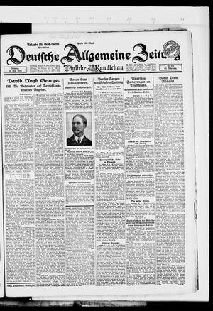 Deutsche allgemeine Zeitung vom 22.05.1923