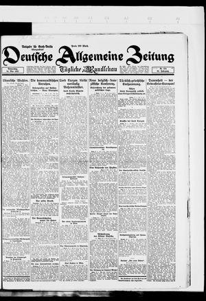 Deutsche allgemeine Zeitung vom 24.05.1923