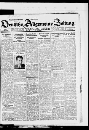 Deutsche allgemeine Zeitung vom 25.05.1923