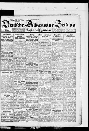 Deutsche allgemeine Zeitung vom 28.05.1923