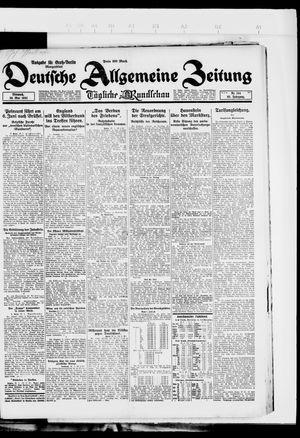 Deutsche allgemeine Zeitung on May 30, 1923