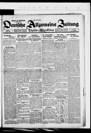 Deutsche allgemeine Zeitung vom 01.06.1923