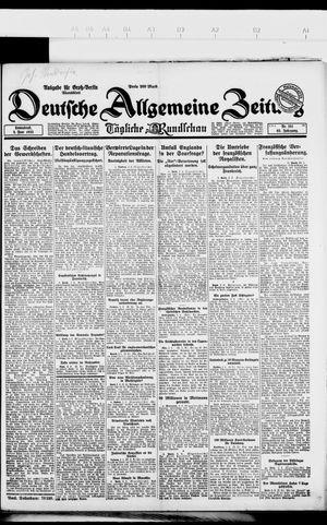 Deutsche allgemeine Zeitung vom 02.06.1923