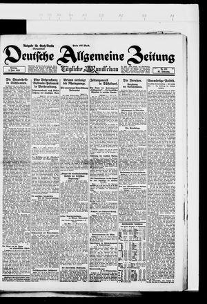 Deutsche allgemeine Zeitung vom 03.06.1923