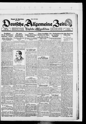 Deutsche allgemeine Zeitung vom 05.06.1923